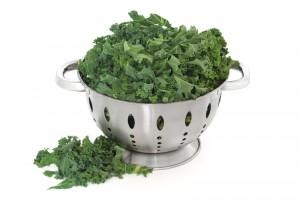 Kokt grönkål