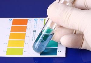 sur eller basisk kropp test