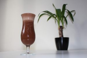 Vegansk choklad smoothie
